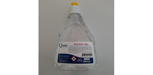 Álcool Gel 500ml - Qualy